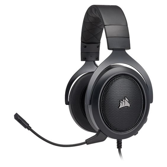 Picture of CORSAIR GAMING HEADSET HS50 STEREO - CARBON COR-HS-HS50-STEREO-CRBN