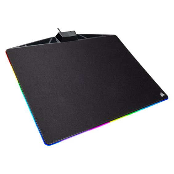 Picture of CORSAIR GAMING MOUSE PAD MM800 RGB POLARIS - CLOTH EDITION - 350MM X 260MM COR-MP-MM800-RGB-POLARIS