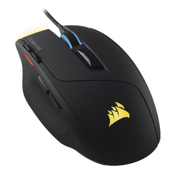 Picture of CORSAIR GAMING MICE SABRE RGB, BLACK, OPTICAL, 10000DPI COR-MS-SABRE-RGB