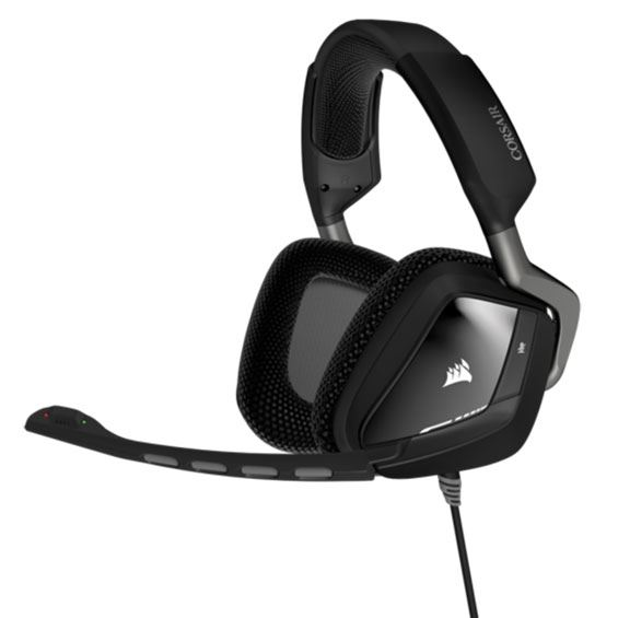 Picture of CORSAIR GAMING HEADSET VOID PRO RGB WIRELESS DOLBY 7.1 - BLACK COR-HS-VOIDPRO-WL-RGBBLK