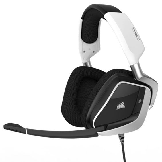 Picture of CORSAIR GAMING HEADSET VOID PRO RGB USB DOLBY 7.1 - WHITE COR-HS-VOIDPRO-RGBWHT