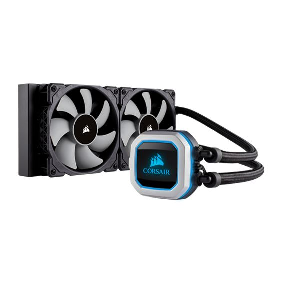 Picture of Hydro Series™ H100i PRO RGB 240mm Liquid CPU Cooler