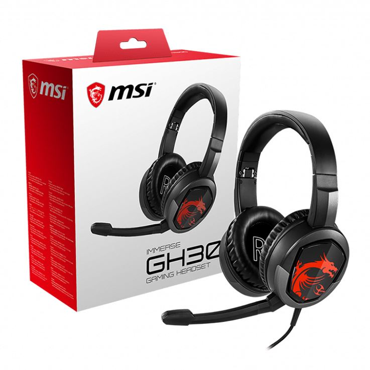 Picture of MSI IMMERSE GH30 GAMING HEADSET