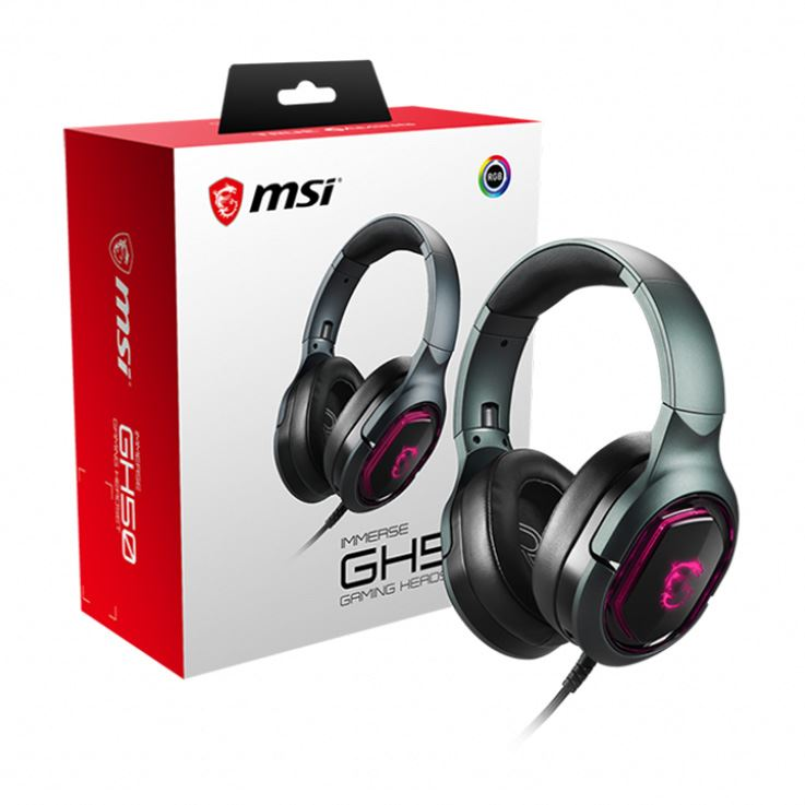Picture of MSI IMMERSE GH50 Gaming Headset