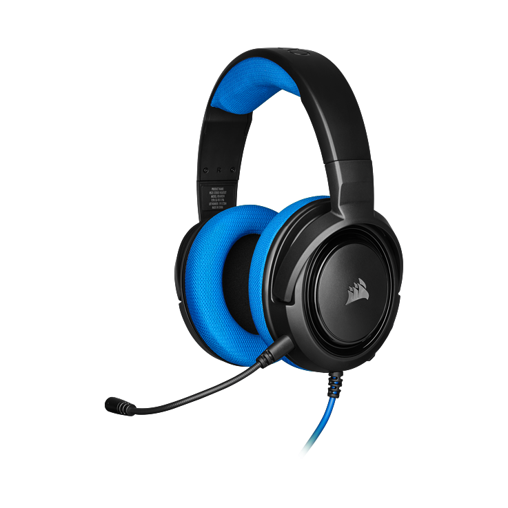 Picture of Corsair HS35 Stereo Gaming Headset - Blue