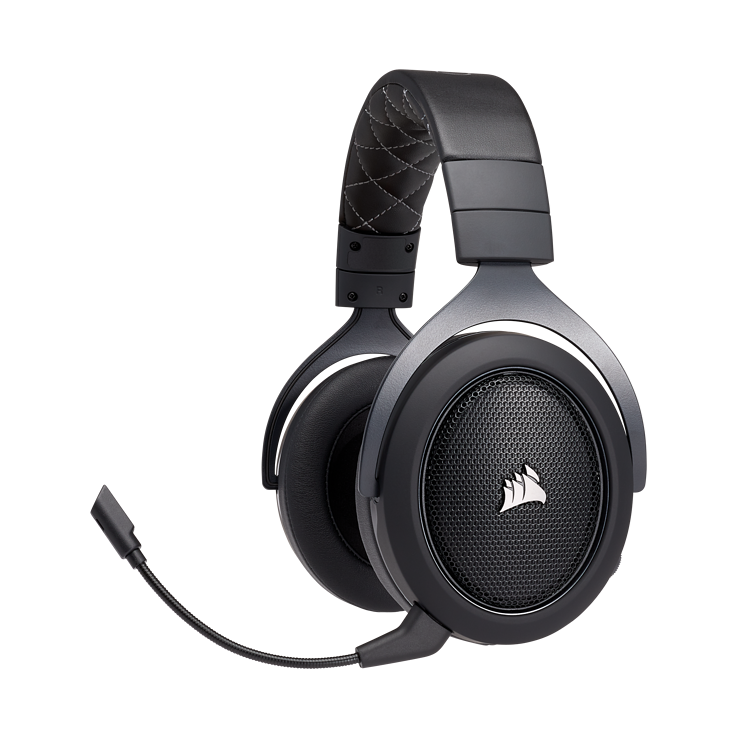 Picture of Corsair HS70 SE WIRELESS Gaming Headset - Carbon