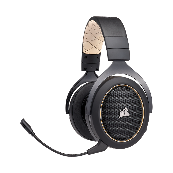 Picture of Corsair HS70 SE WIRELESS Gaming Headset - Cream