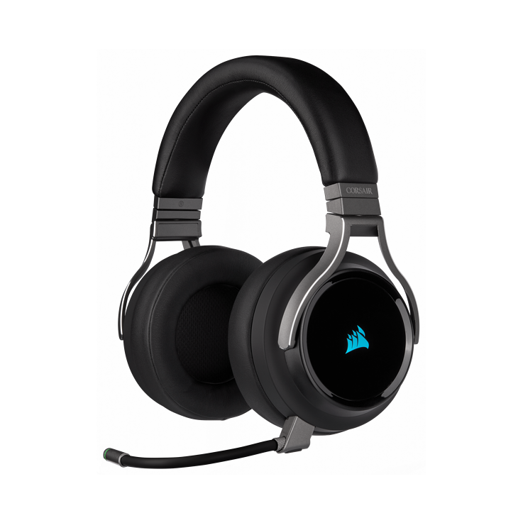 Picture of Corsair VIRTUOSO RGB WIRELESS High-Fidelity Gaming Headset - Carbon