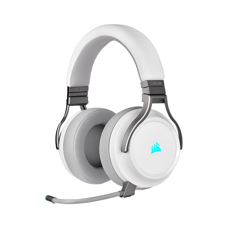 Picture of Corsair VIRTUOSO RGB WIRELESS High-Fidelity Gaming Headset - White