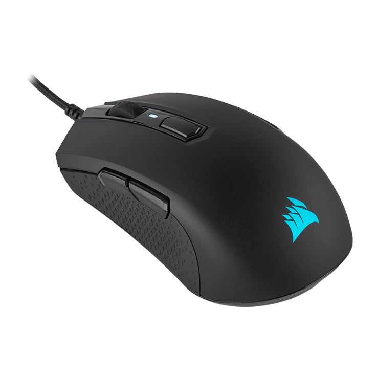 Picture of Corsair M55 RGB PRO Ambidextrous Multi-Grip Gaming Mouse - Black