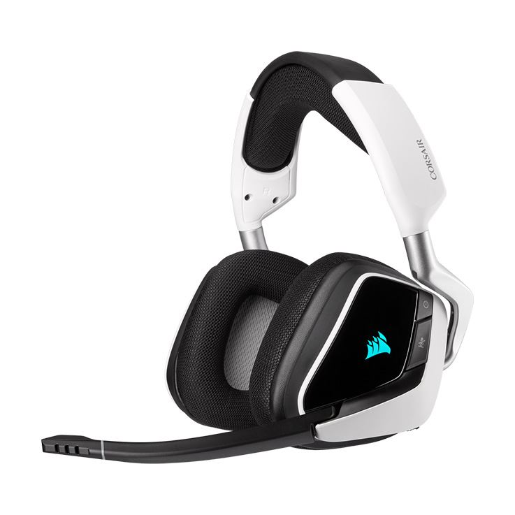 Picture of Corsair VOID RGB ELITE Wireless Premium Gaming Headset with 7.1 Surround Sound - White