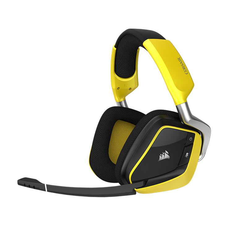 Picture of Corsair VOID PRO RGB Wireless SE Premium Gaming Headset with Dolby® Headphone 7.1 - Yellow