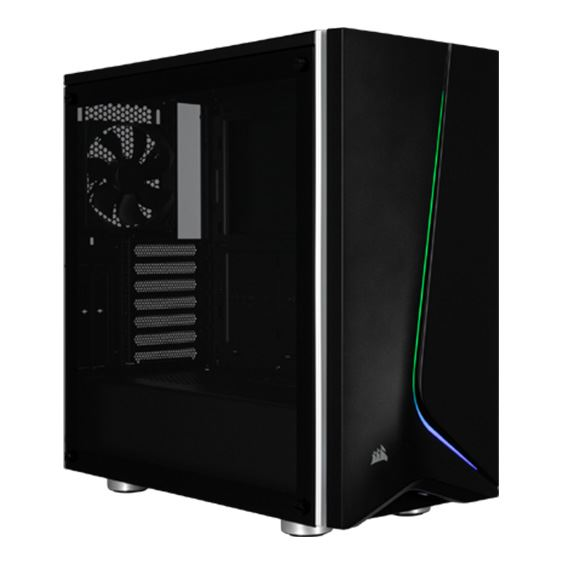 Picture of Corsair Carbide SPEC-06 RGB Tempered Glass Mid-Tower ATX Case - Black