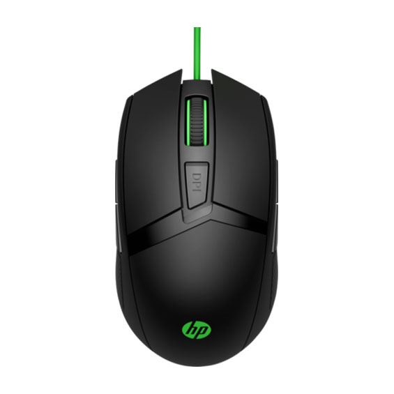 Picture of HP 300 PAV Gaming GRNCable Mouse